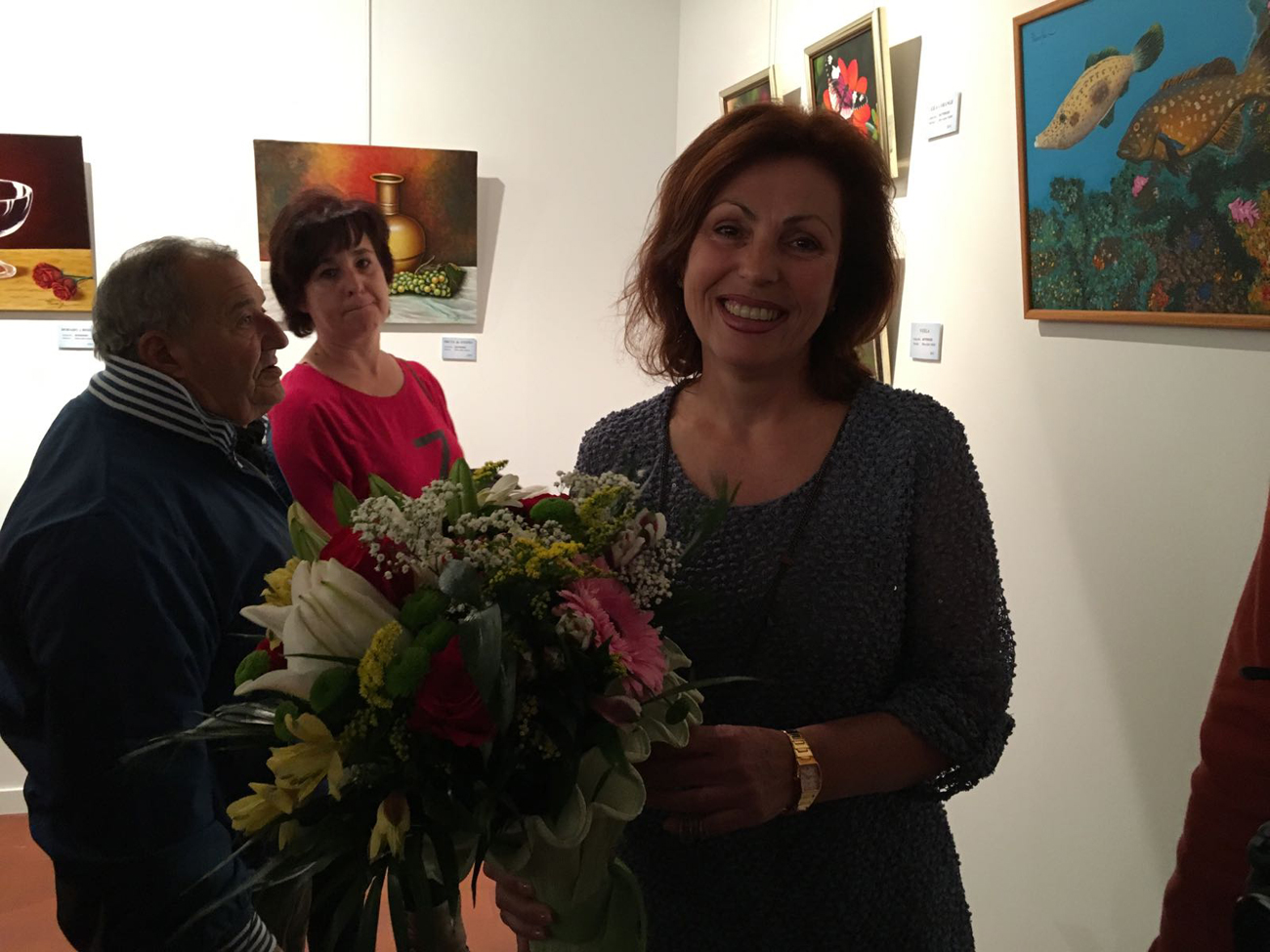 La autora Pilar Rivero