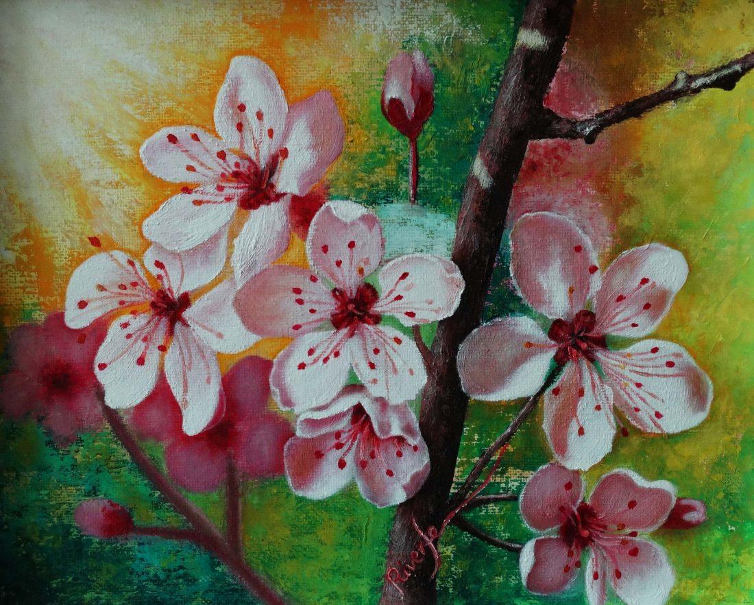 Flor de almendro I